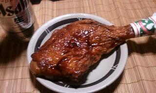 鶏の素敵に焼いたやつです。