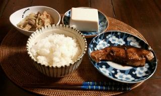 初日の夕飯自炊♪やっぱ料理は楽しい♪
