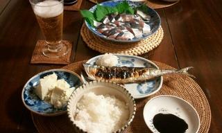 2日目は旬の秋刀魚三昧♪