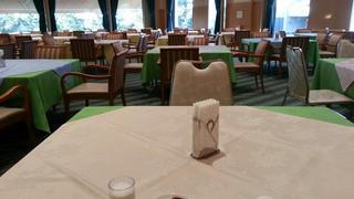 朝10時から仙台で講座があるため、一人だけ一番乗りで朝食w