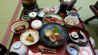 日本三景松島 一の坊での夕食♪