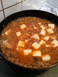 ぜいたく麻婆豆腐レシピ2