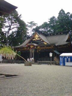 仙台の大崎八幡宮です。