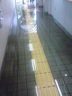 最寄り駅水害…。