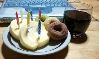誕生日ケーキ!!