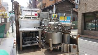さすが豆腐屋さんの機械!ピカピカです♪