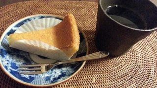ずっと食べたかった甘座(あまんざ)のチーズケーキ♪