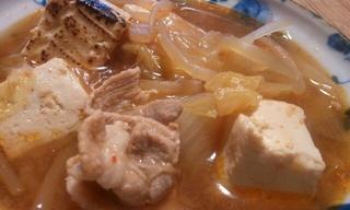 マジで美味い!豚キムチ鍋♪